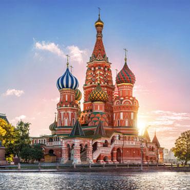 Russland-Destination
