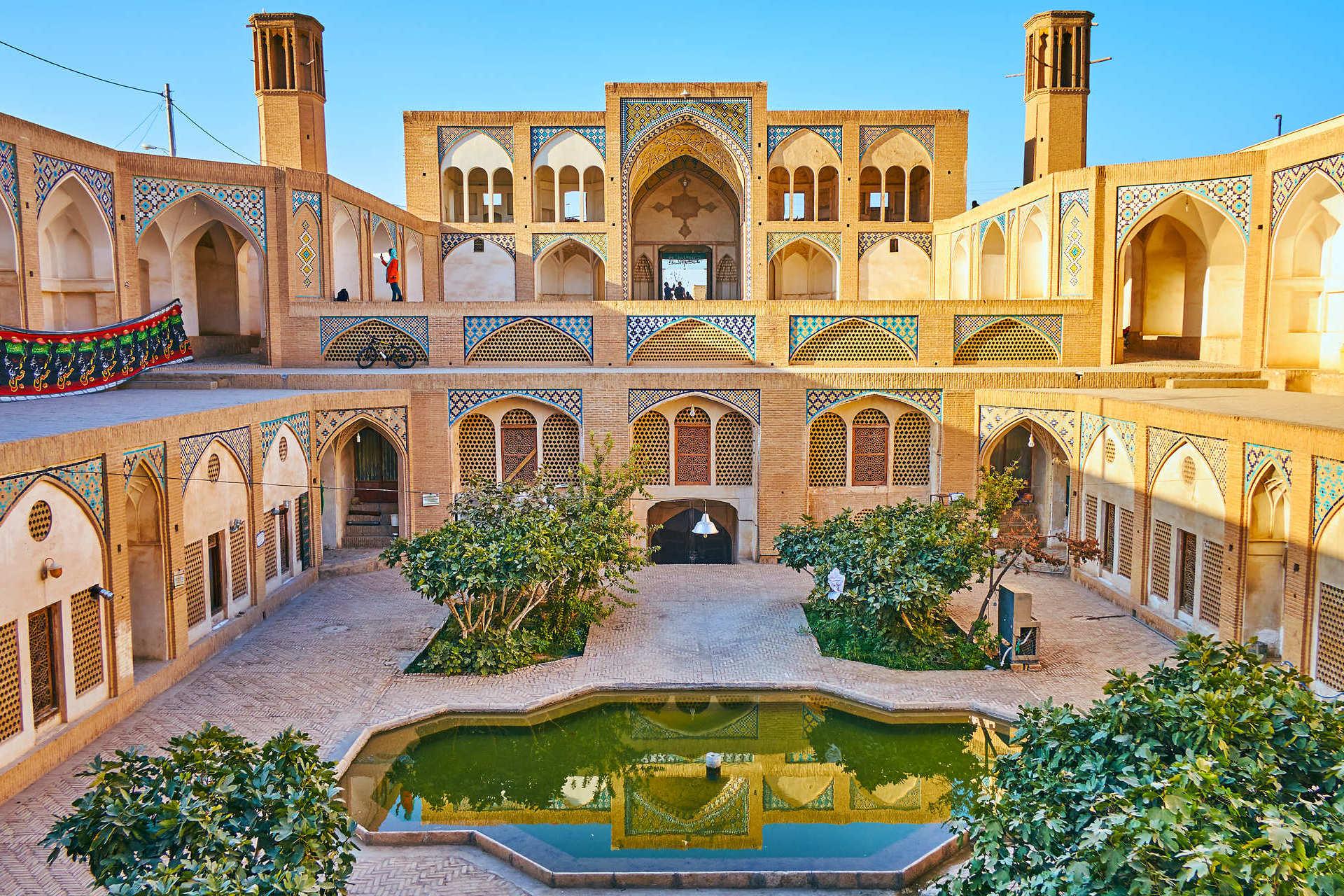 Agha Bozorg Moschee Kashan