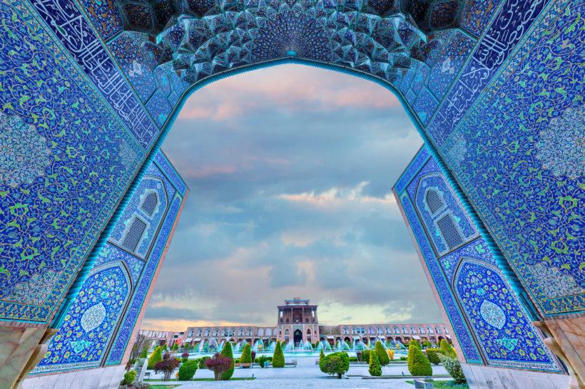 Naqsch-e Dschahan-Platz in Isfahan – Iran