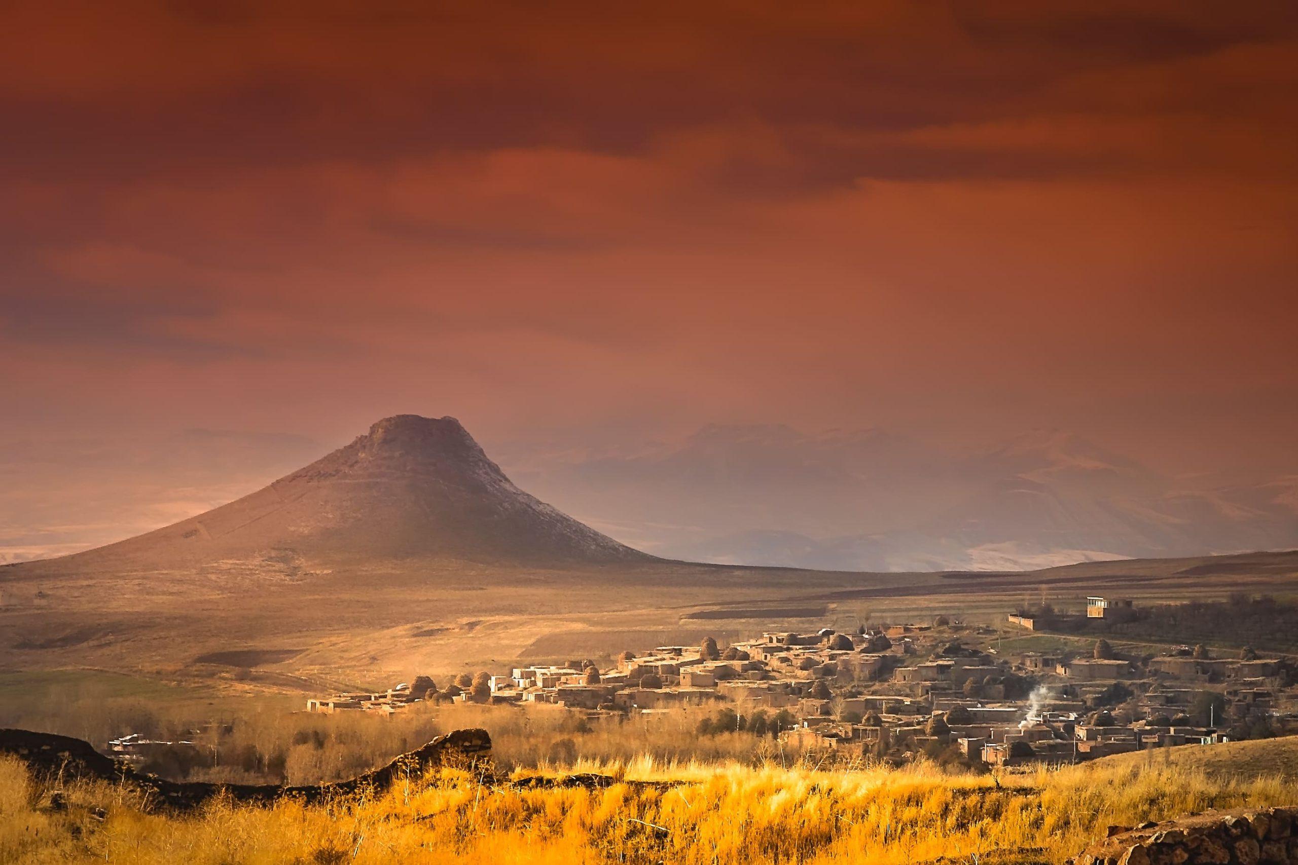 Zendan-e Suleiman Vulkan