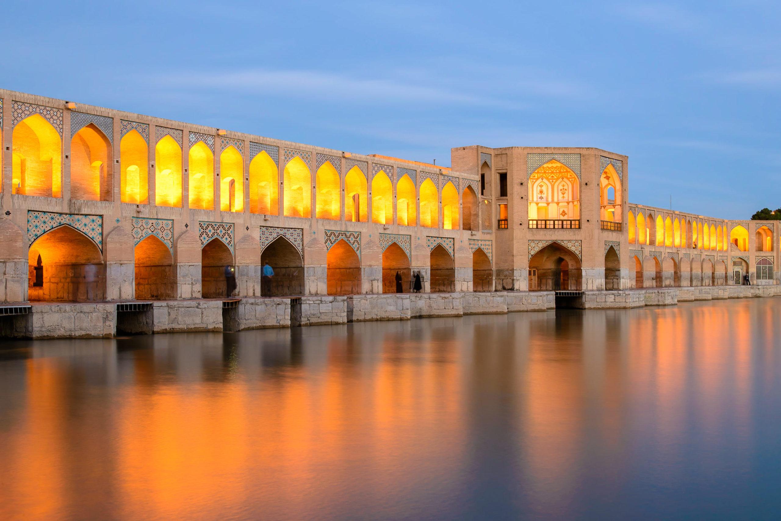 Chadschu Brücke in Isfahan